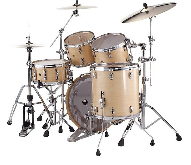 pearl reference drum set w free gig bags natural maple free reverb. Black Bedroom Furniture Sets. Home Design Ideas