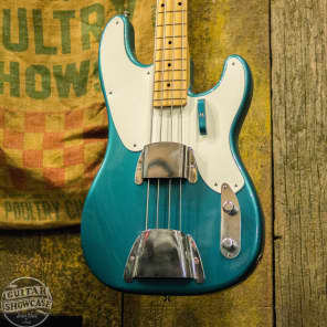 Fender NOS 2002 NAMM Masterbuilt John English 1955 Relic Precision Bass for sale