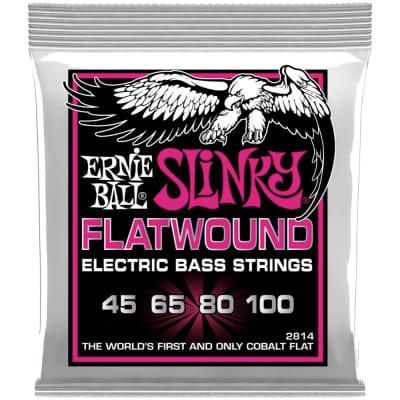 Ernie Ball Slinky Flatwound Electric Bass Strings