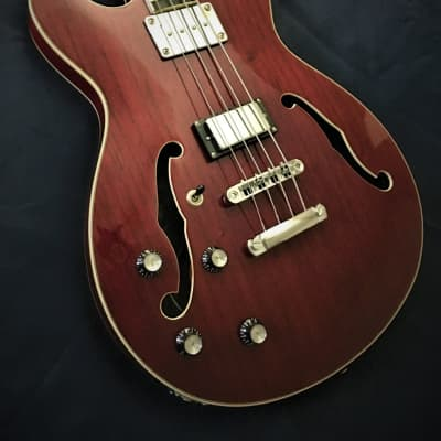 Dillion Super Nova Left Handed Bass Guitar for sale