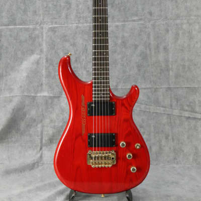 Morris 1985 M-02G See Thru Red for sale
