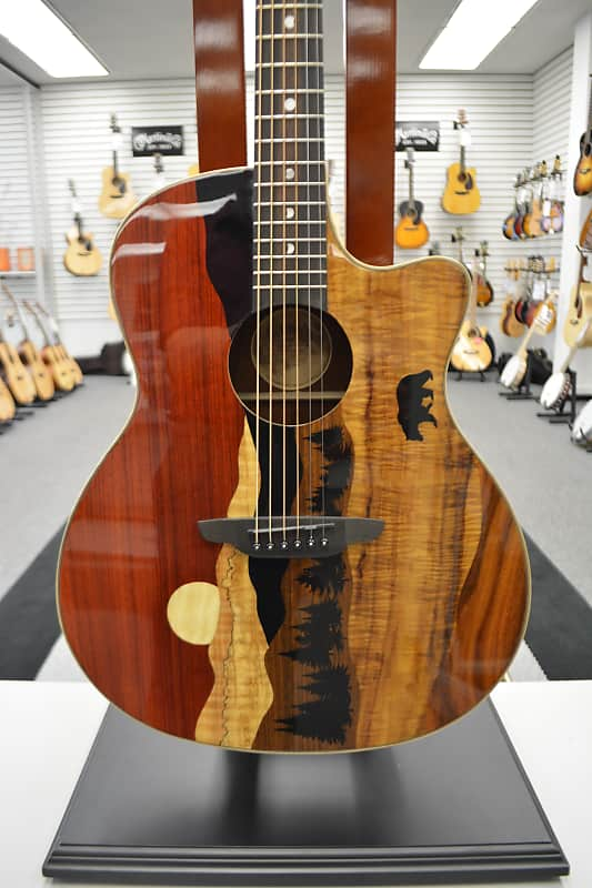 Luna Vista Bear A/E - Gloss Natural w/Case