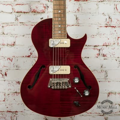 Epiphone Blueshawk Deluxe Wine Red Electric Guitar x8644