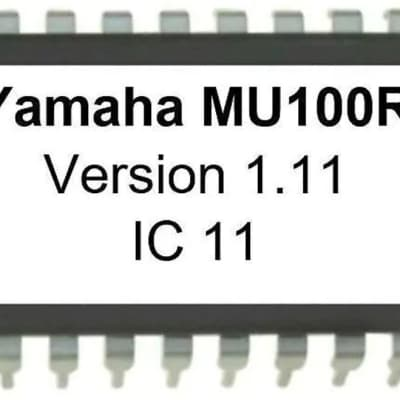 Yamaha MU100R EPROM with OS Firmware 1.11 Tone generator Update Upgrade Mu-100R