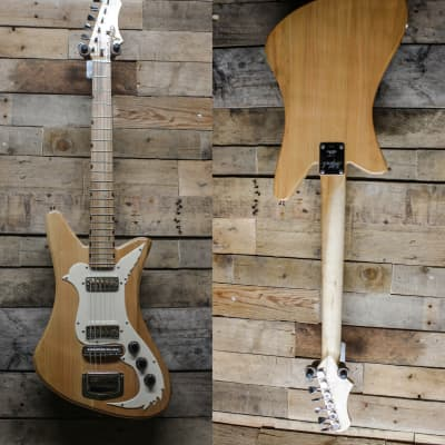 DeMont USA Made Goldfinch - Rock Maple Neck, Spalted Maple Fretboard,  - All Cut in Illinois! w/ bag for sale