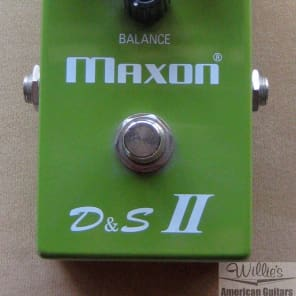Maxon D&S II overdrive/distortion pedal for sale