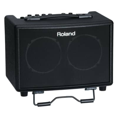 Roland: AC-33 30-Watt Battery Powered Black Portable Acoustic Amp