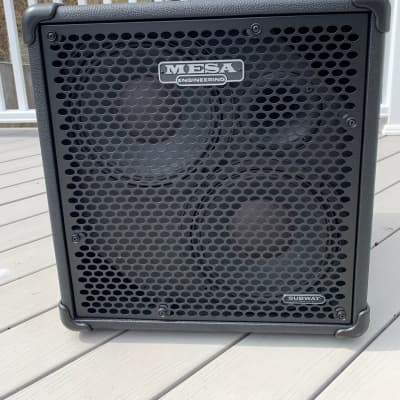 """Mesa Boogie Subway Ultra-Lite 2x10"""" Bass Speaker Cabinet with Speaker Cover"""