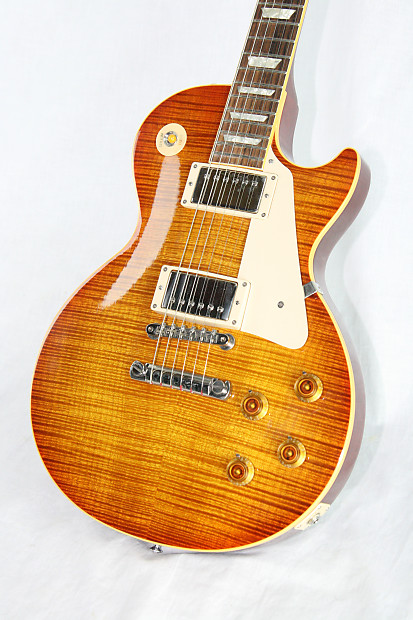 1996 Gibson Les Paul 1959 Les Paul Reissue GOOD WOOD ERA! Flametop 59 LP R9!