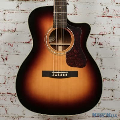 Guild OM-140CE Antiqueburst Acoustic/Electric Guitar B-Stock x1485 for sale