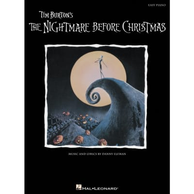 Tim Burton's The Nightmare Before Christmas (Easy Piano)