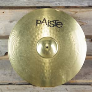 "Paiste 20"" 101 Brass Ride Cymbal"