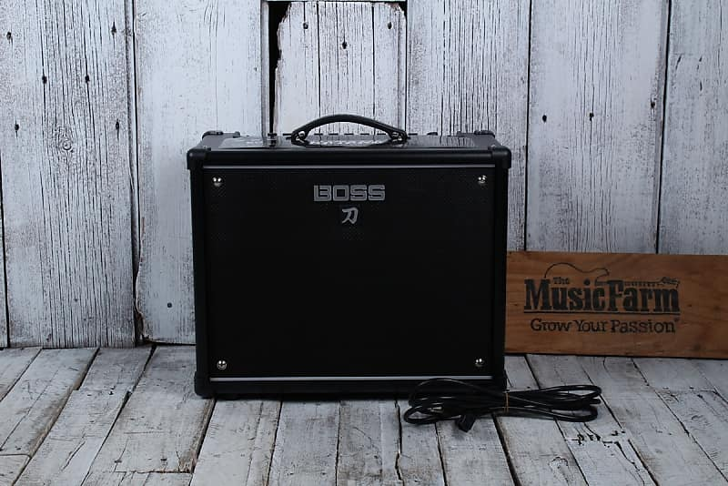 boss ktn 50 katana 50 electric guitar amplifier 50 watt solid reverb. Black Bedroom Furniture Sets. Home Design Ideas