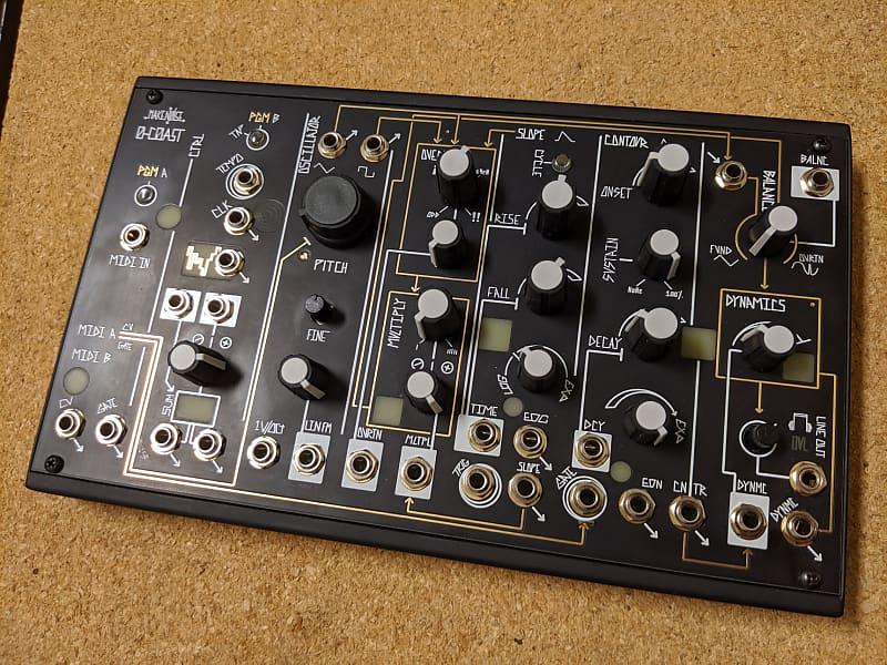 make noise 0 coast semi modular desktop synthesizer reverb