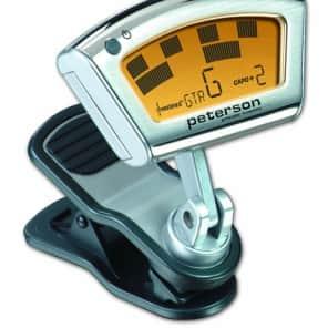 Peterson SC-1 StroboClip Clip-On Guitar Tuner