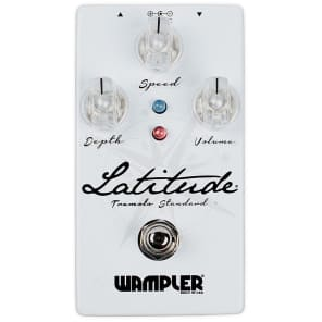 Wampler Latitude Standard Tremolo True Bypass Guitar Effects Pedal Stompbox 2