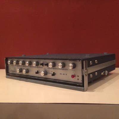RARE vintage 1967 FARFISA GS42R tremolo spring reverb unit KILLER guitar preamp for sale