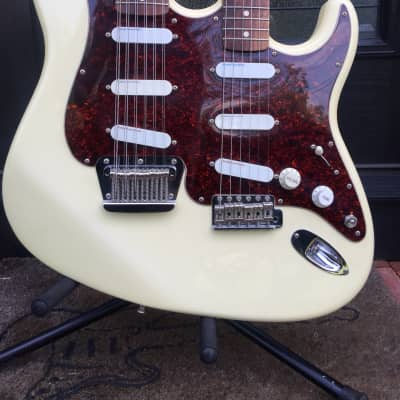 Vintage 1992 Fender Custom Shop Double-Neck Stratocaster (Fred Stuart) for sale