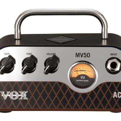 Vox MV50AC 50W Minivalve AC Guitar Amplifier Head