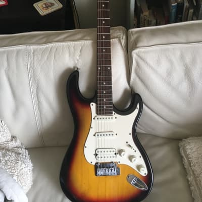ESI Jam mate UG-1 JM300S 3-tone brown burst for sale
