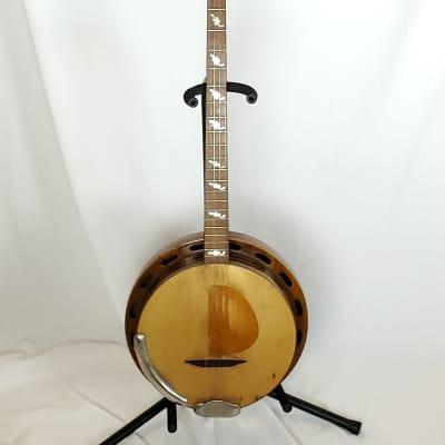 RARE RARE RARE Paramount Plectrum Harp II Tenor Guitar/Banjo C. 1925 Brown. EXC Condition w/OHSC! for sale