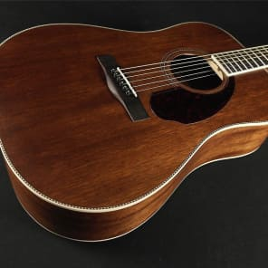 Fender Paramount Series PM-1 Dreadnought All Mahogany NE - Natural (366) for sale