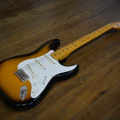 1994 Fender '57 Reissue Stratocaster 2 Tone Sunburst w/ original case for sale