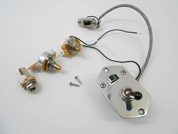 Fender Jaguar Wiring Volume Tone Pots 3-Way Toggle Mod Kill Switch Low Cut
