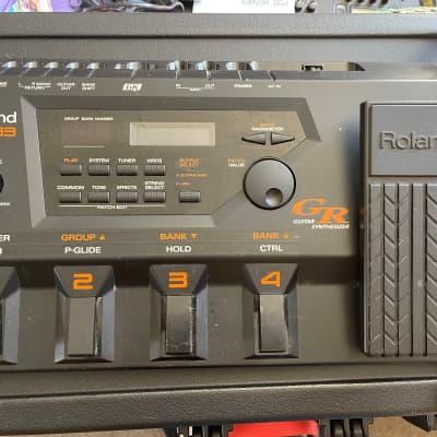 Roland GR-33 Guitar Synth inc original power supply and original GK3 pickup (no fittings)
