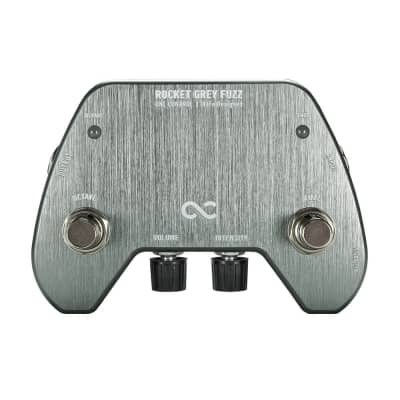New One Control Rocket Grey Fuzz Guitar Effects Pedal for sale