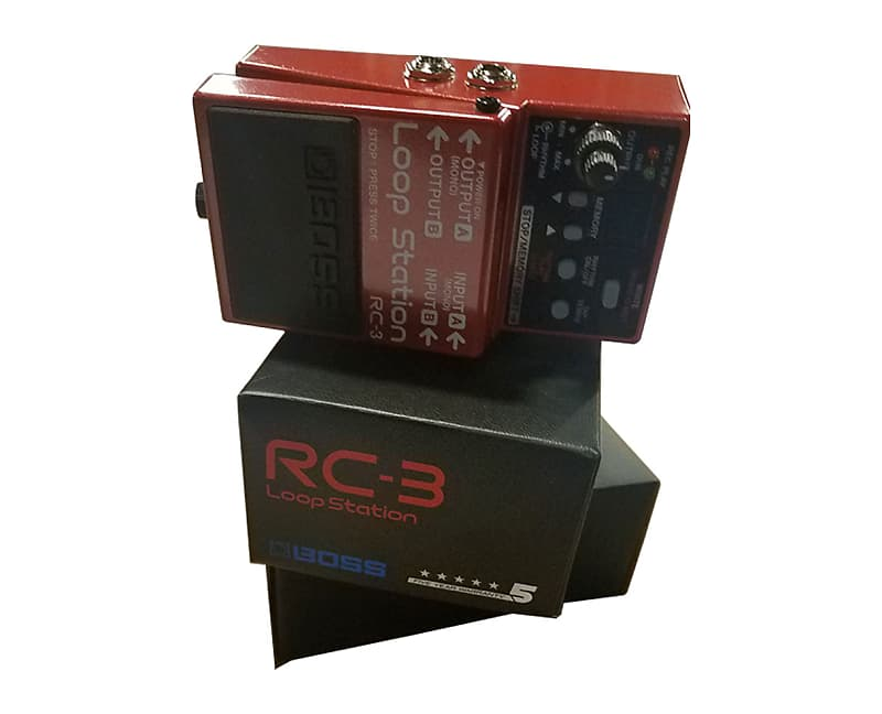 boss rc 3 loop station pedal used proaudiostar reverb. Black Bedroom Furniture Sets. Home Design Ideas
