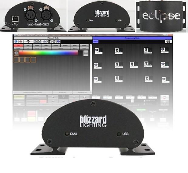 BLIZZARD ECLIPSE DMX Lighting Software Program