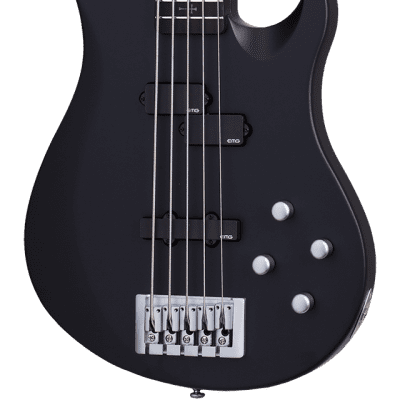 Schecter Johnny Christ-5 Bass Satin Black for sale