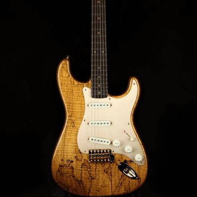 Fender Fender Custom Shop Spalted Maple Artisan Stratocaster 2019 natural for sale