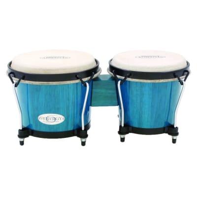 Toca Synergy Bongo 6 - 6-3/4 Bahama Blue