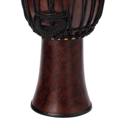 Tycoon 12 in Star Glass Djembe - Rope-Tuned Marble