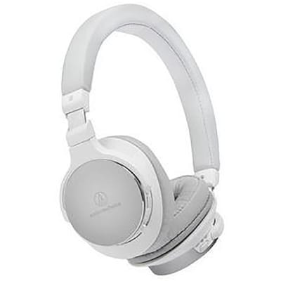 Audio-Technica ATH-SR5BTWH Bluetooth On Ear Headphones Hi-Res With Controls White