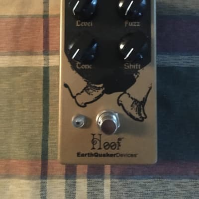 EarthQuaker Devices Hoof Fuzz Germanium/Silicon Hybrid Fuzz V2