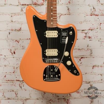 Fender Player Jazzmaster® Electric Guitar, Pau Ferro Fingerboard, Capri Orange x0782