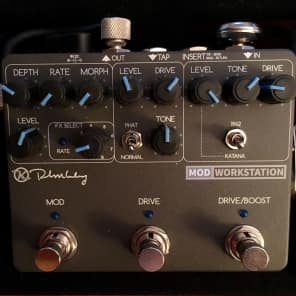 Keeley Mod Workstation Dual Gain Stage and Modulation Pedal