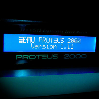 LED Display Upgrade - E-mu Proteus 2000 Mo'Phatt Vintage Pro Planet Earth Orbit-3