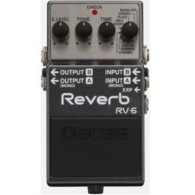 Boss RV-6 Digital Reverb Guitar Pedal for sale
