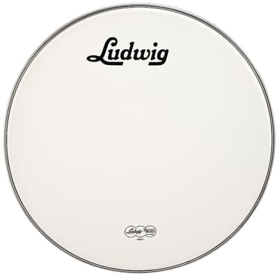 "Ludwig LW4224-V Weather Master 24"" Smooth Resonant Bass Drum Head"