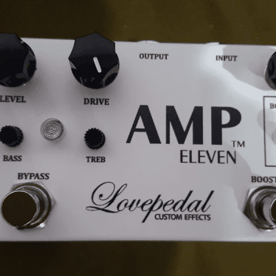 Lovepedal Amp Eleven 2010s White
