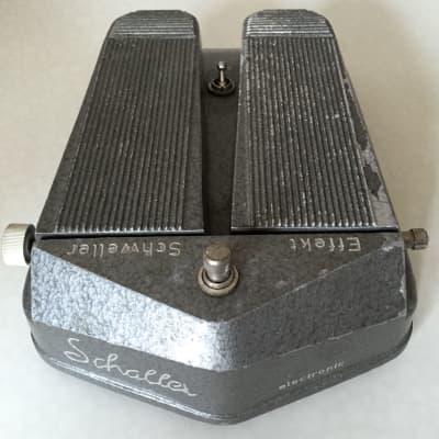 Schaller Double Pedal w/ Fuzz, Tremolo, Treble Boost & Volume 1968 for sale
