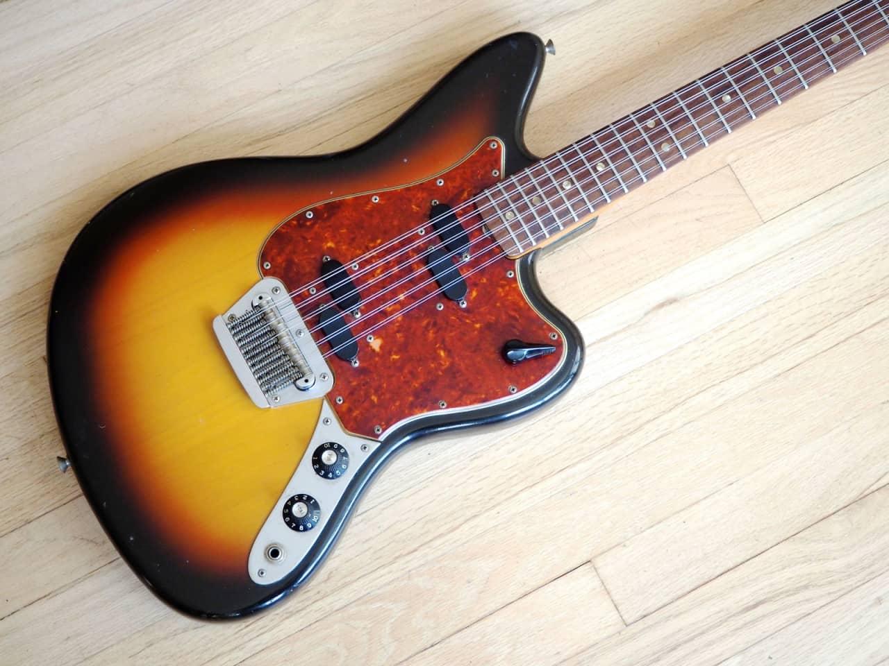 1966 fender electric xii vintage 12 string electric guitar reverb. Black Bedroom Furniture Sets. Home Design Ideas