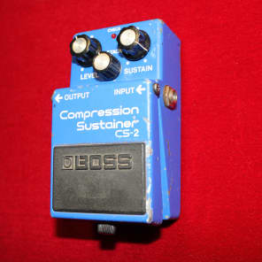 Boss CS-2 Compression Sustainer 1986