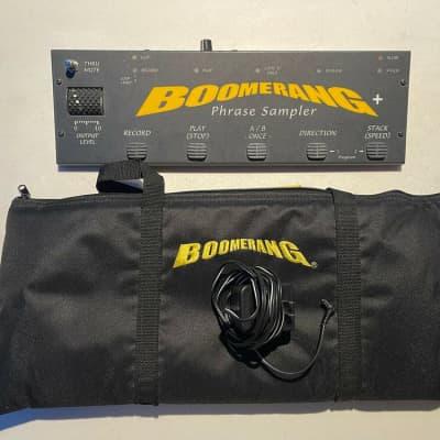 Boomerang + Plus V2 Phrase Sampler Loop Looper Guitar Effect Pedal + Bag & PSU