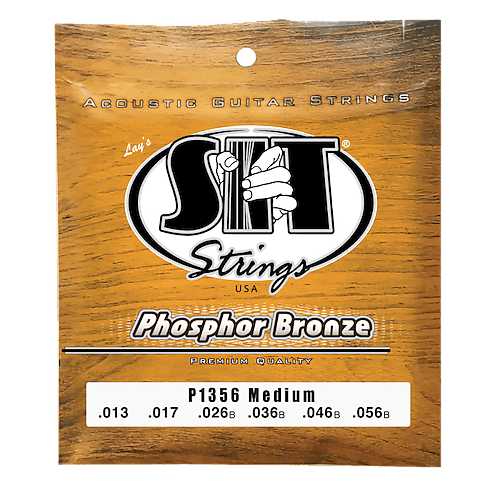 s i t strings phosphor bronze guitar strings gauges 13 56 reverb. Black Bedroom Furniture Sets. Home Design Ideas