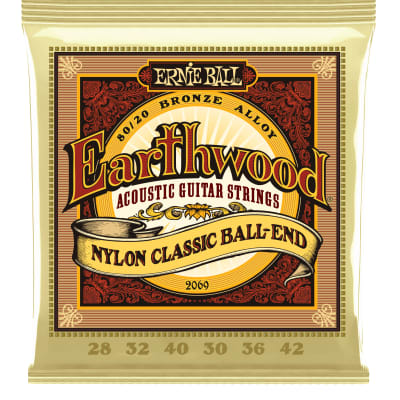 Ernie Ball Earthwood Folk 80/20 Bronze Acoustic Guitar Strings for sale